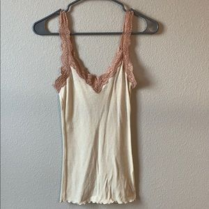 Abercrombie & Fitch Lace Tank Top Size M